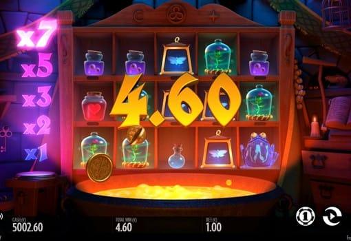 Крупный выигрыш за комбинацию в автомате Frog Grog