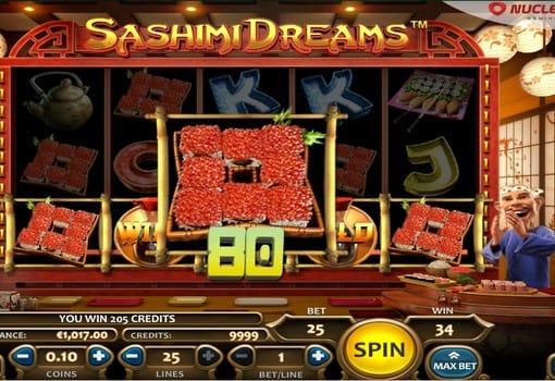 Крупный выигрыши в автомате Sashimi Dreams