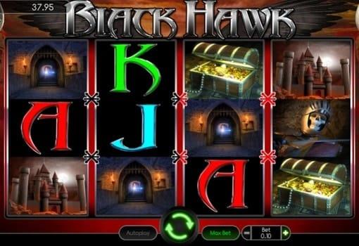 Играть в автомат на реальные деньги с выводом Black Hawk