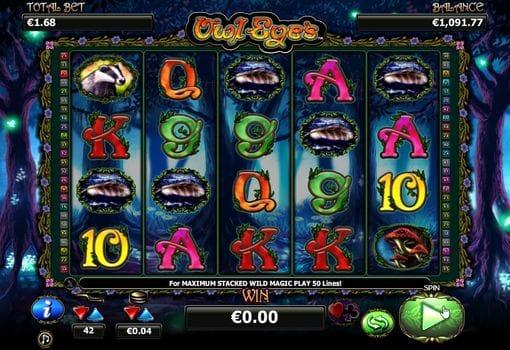 Играть в автоматы на деньги с выводом — Owl Eyes
