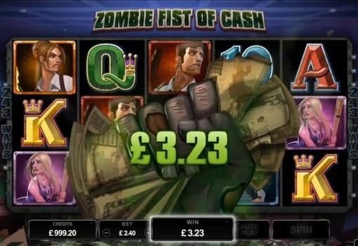 Денежный бонус в игровом автомате Lost Vegas