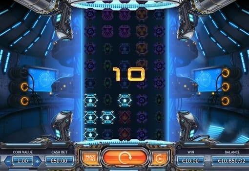 Призовая комбинация в игровом автомате Power Plant