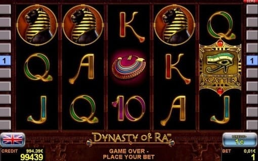 Игровые автоматы на деньги с выводом Dynasty of Ra