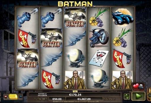 Игровые автоматы на реальные деньги с выводом - Batman