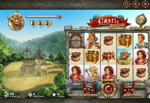 Игровые автоматы на реальные деньги с выводом — Castle Builder