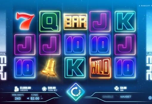 Игровые автоматы на реальные деньги с выводом - Classic 243
