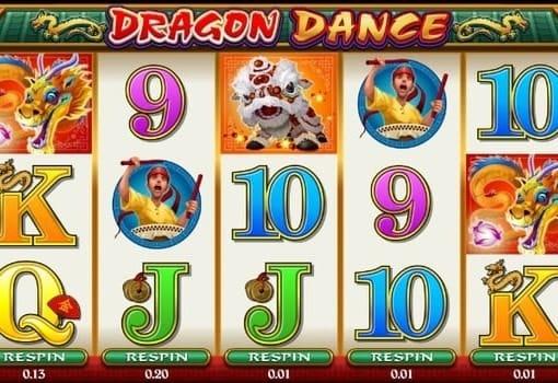 Игровые автоматы на реальные деньги с выводом - Dragon Dance