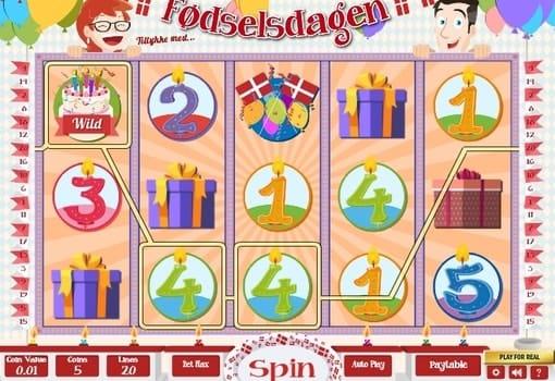 Игровые автоматы на реальные деньги с выводом - Fodselsdagen