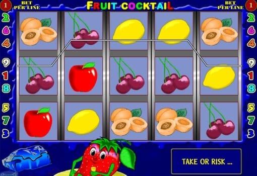 Игровые автоматы на реальные деньги с выводом Fruit Cocktail