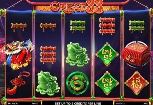 Игровые автоматы на реальные деньги с выводом - Great 88