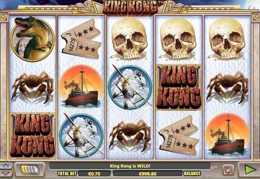 Игровые автоматы на реальные деньги с выводом - King Kong