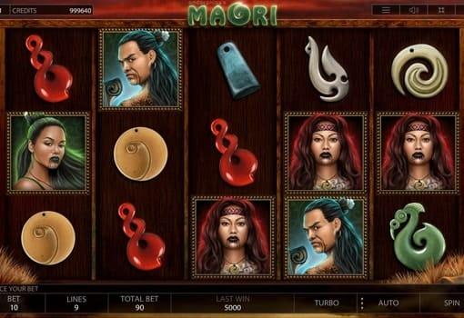 Игровые автоматы на реальные деньги с выводом - Maori
