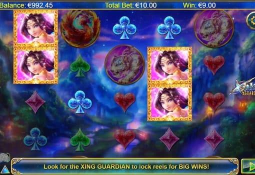 Игровые автоматы на реальные деньги с выводом - Xing Guardian