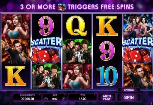 Игровые автоматы онлайн с выводом денег - Karaoke Party