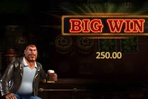 Крупный выигрыш в автомате Down the Pub