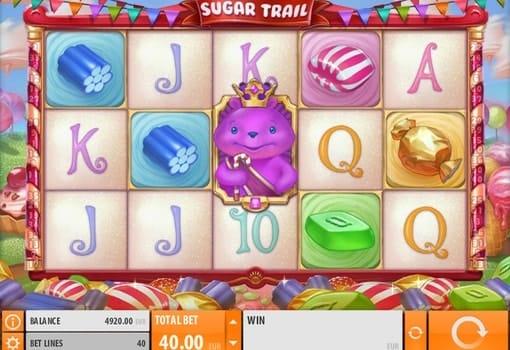 Игровые автоматы с реальным выводом денег — Sugar Trail