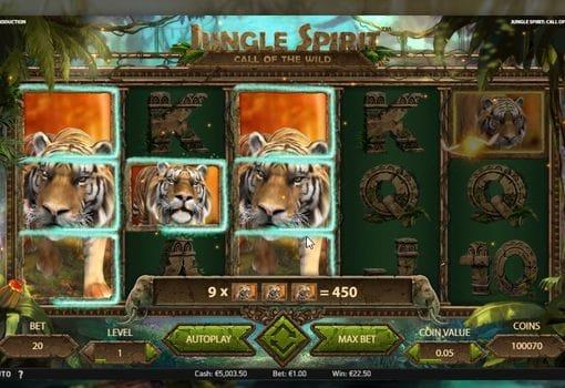 Игровые автоматы с выводом денег — Jungle Spirit: Call of the Wild