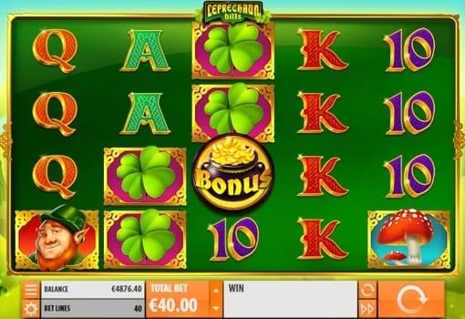 Игровые автоматы с выводом денег Leprechaun Hills