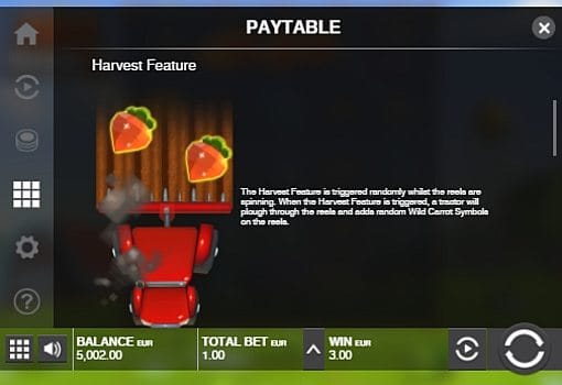 Игровой бонус в онлайн аппарате Fat Rabbit
