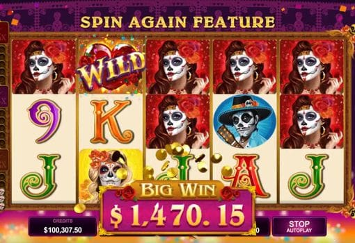 Крупный выигрыш в онлайн автомате Beautiful Bones