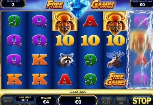 Платные игровые автоматы с выводом денег - Buffalo Blitz